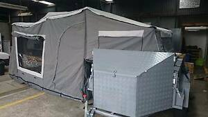 homemade tandem trailer trailer top tent campmaster Launceston Launceston Area Preview
