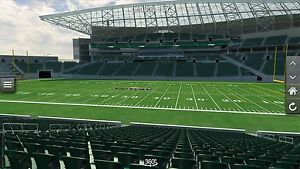 July 8th- 2 tickets riders vs tiger cats