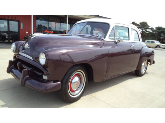 Plymouth : Other 1952 Plymouth 2 Door (Straight Six, 3-Speed Runs & Drives)