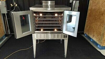 Blodgett Digital Dual Flow Commercial Gas Convection Oven Natural Gas
