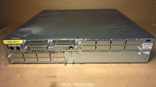 Cisco CISCO2821 Integrated Services Router Chassis INCLUDING 1X HWIC-1FE MODULE