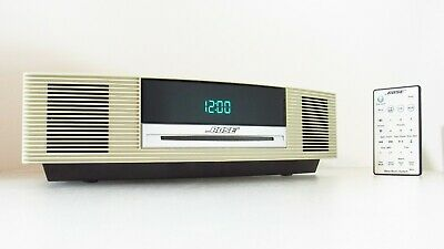 Bose Wave Music System CD Player AM FM Radio Stereo Alarm Clock AUX In