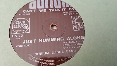 DURIUM DANCE BAND CAN'T WE TALK IT OVER & JUST HUMMING ALONG DURIUM EN13