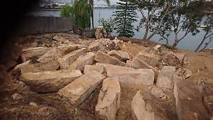 Sandstone rocks and blocks Sydney City Inner Sydney Preview