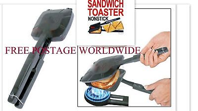 Best Non Stick Steel Gas Stove Hob Bread Roasted Sandwich Toaster Grill Snacks (Best Gas Hobs)
