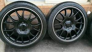 """19"""" Black Rims and Tyres 235/40R19 Dandenong South Greater Dandenong Preview"""