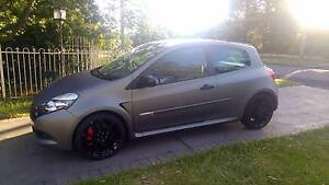 2012 Renault Clio Angel Special Edition 6sp Manual Matte Grey Clovelly Eastern Suburbs Preview