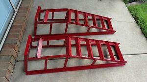 Car ramps heavy duty 4x4