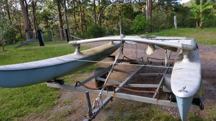 Catamaran 4.2 meters