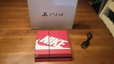 "Sony PlayStation 4 (PS4)  ""NIKE"" Skin CONSOLE  WORKS GREAT"