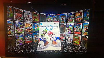 **Nintendo Wii Console ONLY PreLOADED WITH 3000+ GAMES (Nes Snes Sega N64 etc)**