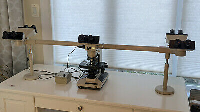 Olympus Bh2 Five-head Discussion Microscope