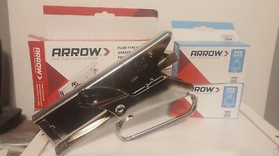 Arrow P22 Heavy Duty Plier Stapler New Includes 1 Box Of 14 716 Staples