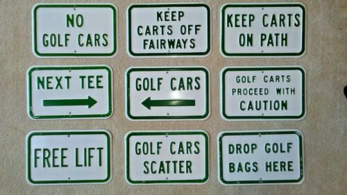 Golf Course Signage and Signs