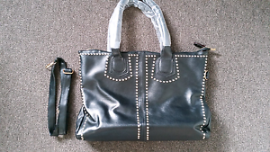 Soft Leather bag with studs Yarraville Maribyrnong Area Preview