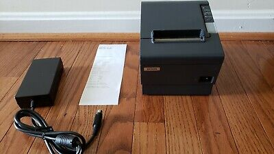 Epson Network Thermal Receipt Printer Tm-t88v Pos W Ethernet Ac Adapter M244a