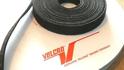 16mm x 6metres VELCRO® Brand ONE-WRAP® Cable Tie Black Double Sided Hook...