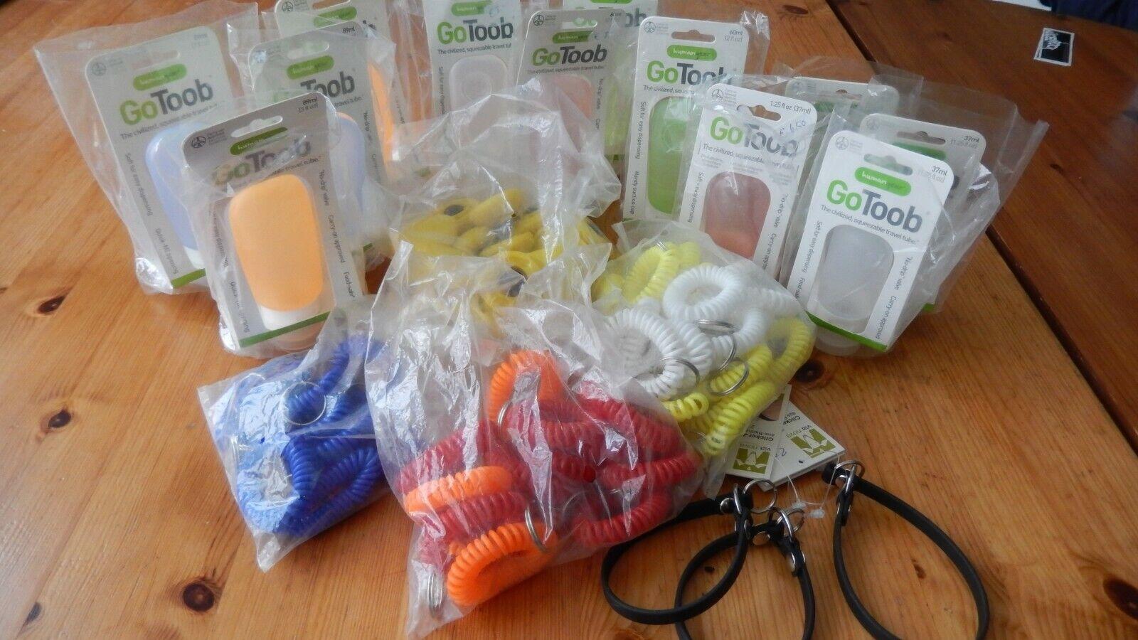 Paket Clicker, Spiralarmbänder, Futtertuben - ideal für Trainer und Hundeschulen