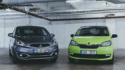 Mitsubishi Space Star und Skoda Citigo