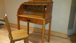 Child/kid/ youth roll top desk