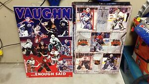 Hockey goalie poster boards framed plak wood