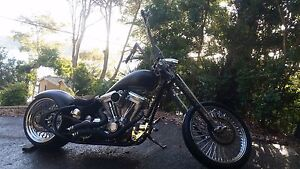 Custom Harley Davidson Chopper Mona Vale Pittwater Area Preview