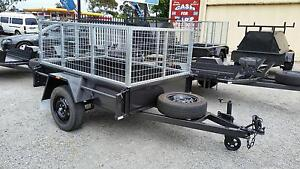 6X4 DELUXE 750kg TRAILER WITH 600mm HIGH CAGE Narre Warren Casey Area Preview
