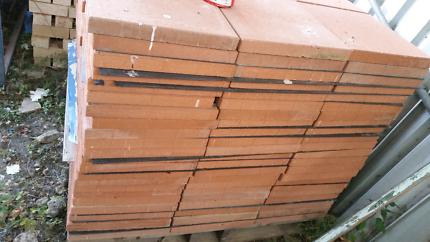 Terracotta pavers 400 x 400 x 40 Brand new
