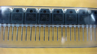 Sec Sgh23n60uf 3-pin Igbt 600v 23a Transistor New Lot Quantity-5