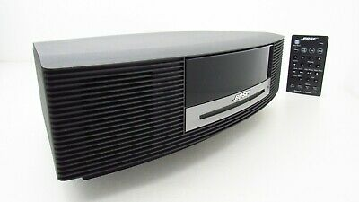 Bose Wave Music System CD Player Radio Stereo Alarm Clock Bundle Remote AWRCC1