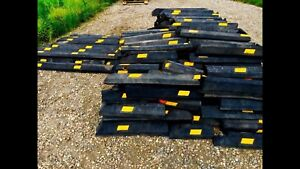 RUBBER PARKING CURBS SPEED BUMPS BORDER EDGING CURB RAMPS
