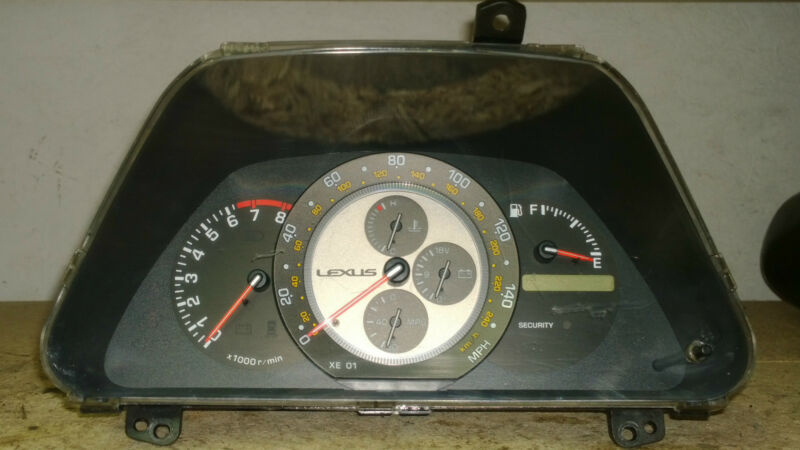 LEXUS IS200 SPEEDOMETER INSTRUMENT CLUSTER REV CLOCKS 83800-53060