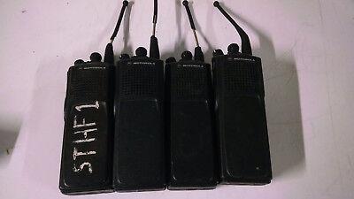 Lot Of 4 Motorola Xts5000 Model Uhf 380-470mhz 48ch Digital Radio H18qdc9pw5an