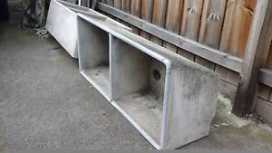 Concrete laundry sinks troughs Pascoe Vale Moreland Area Preview