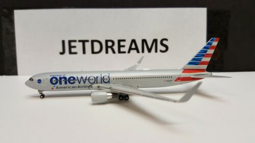 1/400 AMERICAN AIRLINES BOEING 767-300WL ONE WORLD COLORS N343AN GEMINI JETS