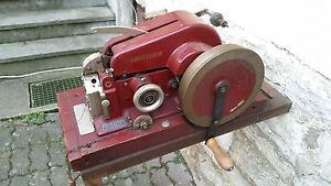 Doppelmaschine der Marke, Gritzner mit Untergestell,Gebrauchsanweisung, Kopie