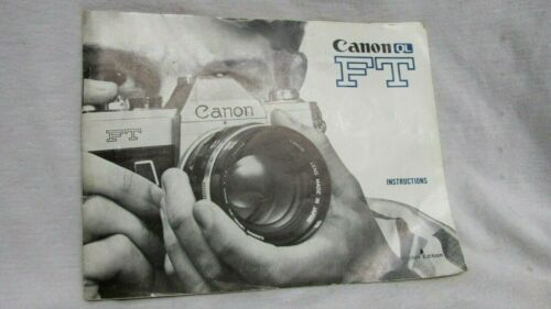 CANON FT CAMERA INSTRUCTION MANUAL