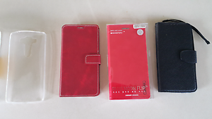 Bulk lot LG V10 cases and glass screen protector Batemans Bay Eurobodalla Area Preview