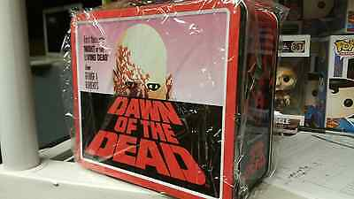 Dawn of the Dead Metal Collectible Lunch Box NEW Horror Zombies