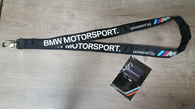 ORIGINAL 2019 BMW M Motorsport Schlüsselanhänger Schlüsselband Lanyard NEU !