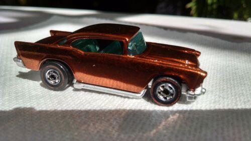 Custom Restored Hot Wheel Redline 57' Chevy Painted In Spectraflame Root Beer