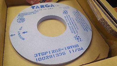 "Norton Targa Surface grinding wheel 16 x 1 x 6"" 3TGP1202-18VHB New 2390 rpm"