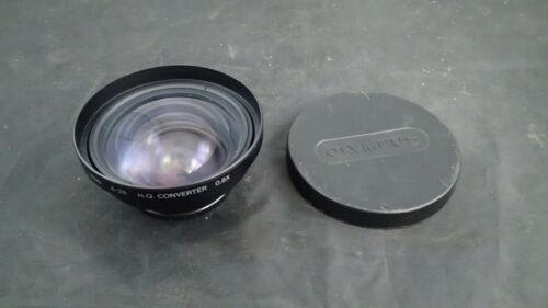 Olympus IS/L Lens  A-28 HQ Converter .8X  49mm  W/ Covers