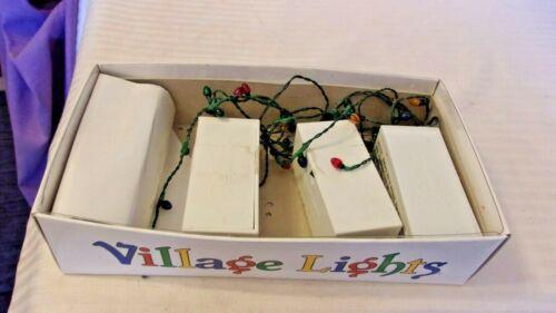 Department 56 RETIRED Snow Village Mini Lights, 14 Bulbs, 3 Sets, 5215-9