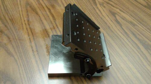 "6""X6""X2"" PRECISION SINE PLATES 1/4""-20 tapped holes 5"" roll distance SINE-P-662"
