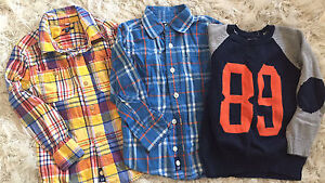 Baby GAP 5T Boys Shirts and Sweater