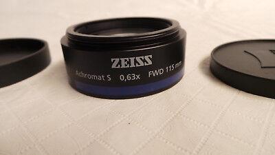 Zeiss Achromat S 0.63x Fwd 115mm
