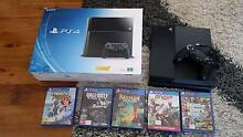 PS4 WITH GAMES Holmesville Lake Macquarie Area Preview