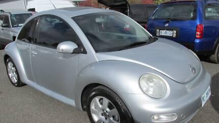 2004 Volkswagen Beetle Ikon  Hatchback Kings Meadows Launceston Area Preview