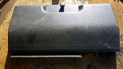 UNDER SEAT CUBBY HOLE DOOR   REMOVED FROM FORD IVECO 75 E BREAKING FOR SPARES